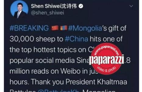 News paparazzi: Хятад Улсын иргэд цахим орчин буюу вичатад Монгол түмний их сэтгэл агуу юм хэмээн шуугиж эхэллээ